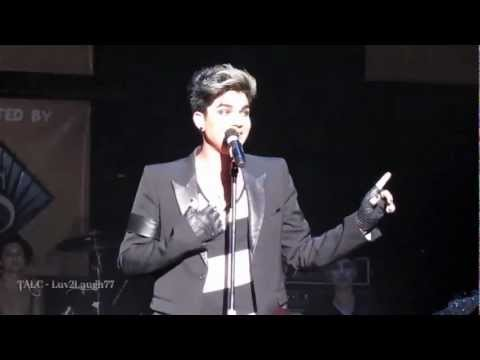 Adam Lambert - HD Shady - Wilkes-Barre, PA