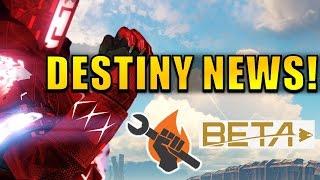 Destiny News: ONE MONTH UNTIL DESTINY 2 GAMEPLAY! Beta FAQ!