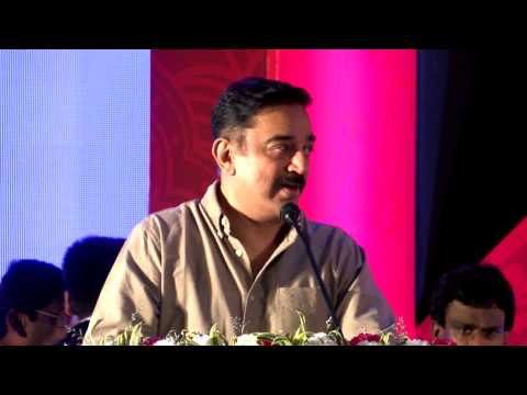 Actor Kamal Haasan Addressing a (Doctor's) Physicians conference !! :)