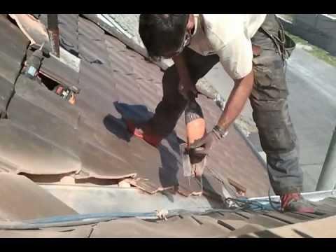 dachziegel schneiden holzbau zultner youtube