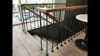 Lan can cầu thang bằng thép tròn có gân dùng cho cấu kiện bê tông cốt thép - Kho Tư liệu Xây dựng
