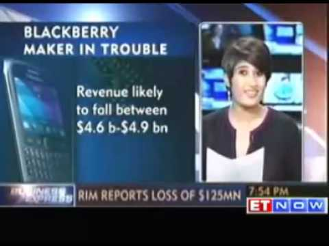 BlackBerry maker RIM posts 125m loss in Q4