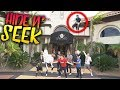 EPIC HIDE AND SEEK IN $10 MILLION DOLLAR AIR BNB MANSION!