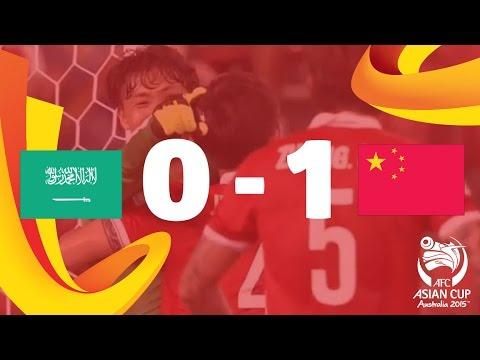 Saudi Arabia vs China: AFC Asian Cup Australia 2015 (Match 4)