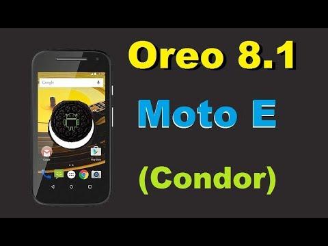 How To Update Android Oreo 8.1 In Motarola Moto E (condor)Lineage OS 15.1