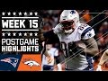 Patriots vs. Broncos | NFL Week 15 Game Highlights MP3
