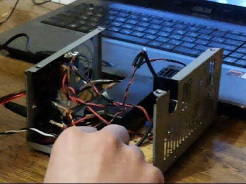 TDA1557Q от БП ноутбука (19V