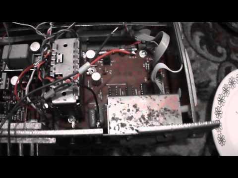 Вариант подключения колонок к старому усилителю Радиотехника
