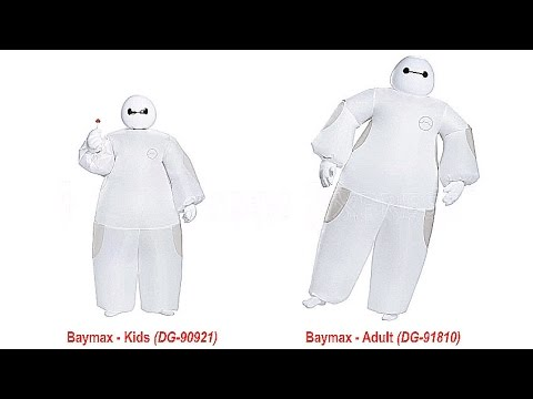 Big Hero 6 BAYMAX Inflatable Costume