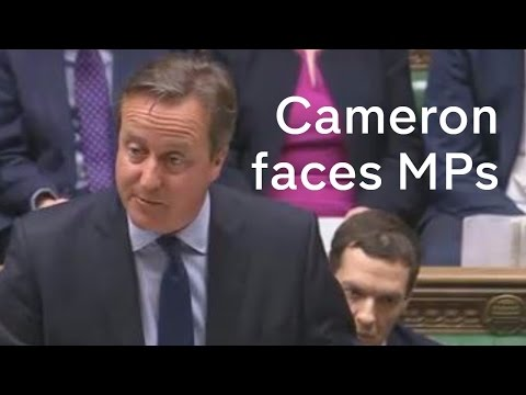 David Cameron defends his tax affairs