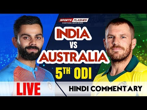 Live IND vs AUS 5th ODI Cricket Match | Live Scores | SportsFlashes