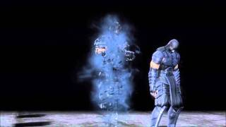 Mortal Kombat 9 Smoke Fatality 1, 2, Stage and Babality (HD)