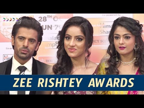 Tv Star Studded Red Carpet Of Zee Rishtey Awards || Klapboard Bollywood