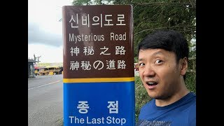 MYSTERIOUS Road in Jeju that DEFY Gravity in Jeju South Korea