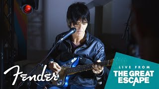 In Conversation with Johnny Marr   The Great Escape Festival 2018   Fender