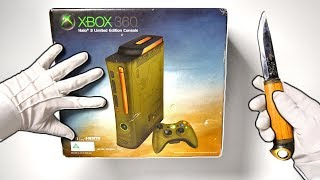 ORIGINAL XBOX 360 UNBOXING! Halo 3 Limited Edition Console Collector's Edition