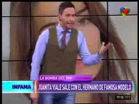 Juana Viale sale con el hermano de la modelo María Vázquez