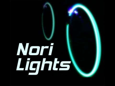 Glowing Bicycle Wheels Kit - Nori Lights Music Videos