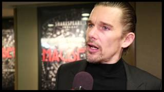 Step Inside the Thrilling Opening Night of Shakespeare's Macbeth, Starring Ethan Hawke