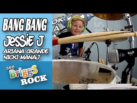 Bang Bang Jessie J Ariana Grande Nicki Manaj Official Drum Cover