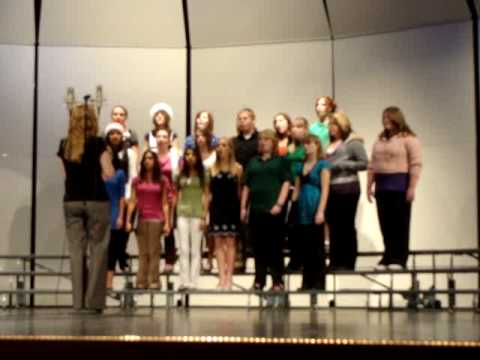 This is my brewer middle school choir singing sleigh ride
