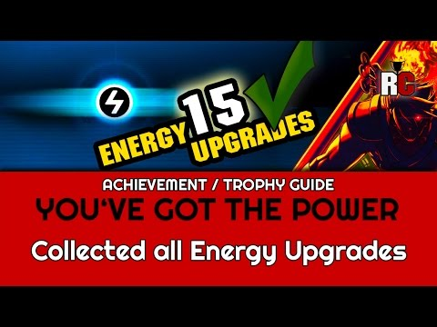 Strider - YOU'VE GOT THE POWER - Achievement / Trophy Guide - Collect All Energy Upgrades