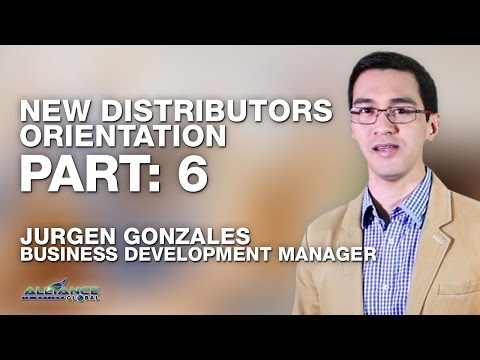 AIM GLOBAL - Jurgen Gonzales New Distributor Orientation NDO Part 6 of 6