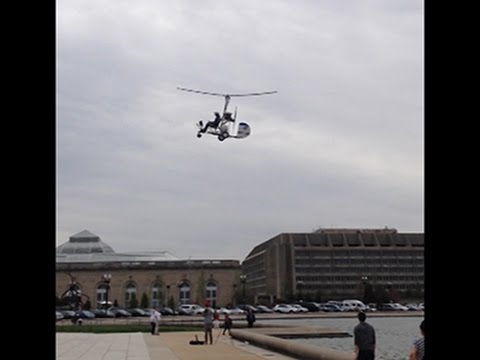 AP EXCLUSIVE: Witness Captures Capitol Landing