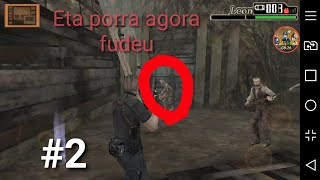 "Resident Evil 4 Mobile: #2 (PROFISSIONAL) ""Luis Sera"" Tem Dr.Salvador em toda fase porra"