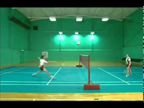 Badminton Technique   Forehand Net Shot video