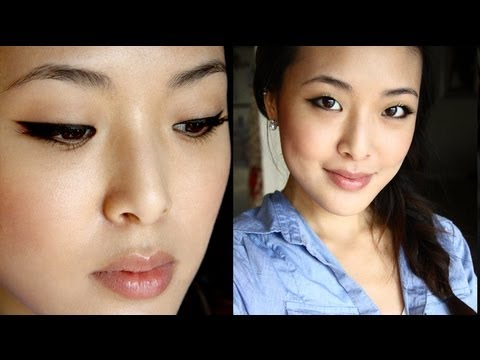 Perfect Winged Eyeliner - Basic Gel Liner Tutorial