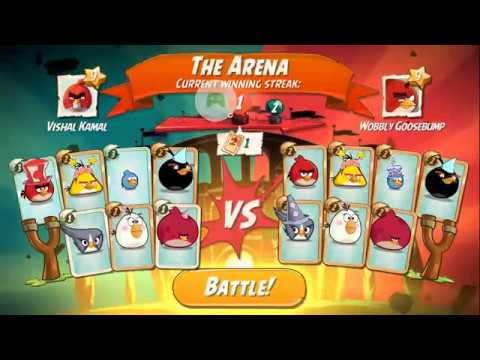 Angry Birds 2 - The Arena Battle