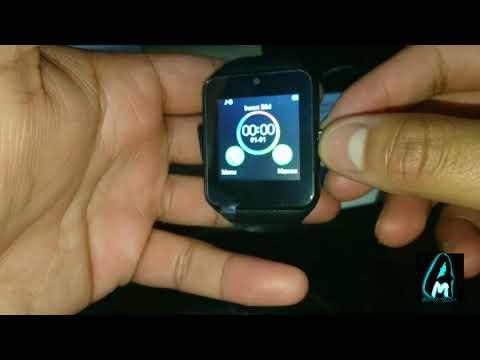 Malltek GT08 YX-W9A Smartwatch (Review)