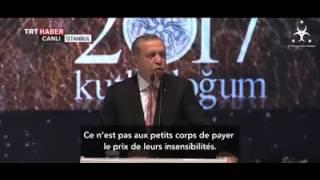 Ce discours du Président Erdogan qui a bouleversé toute la Oumma..