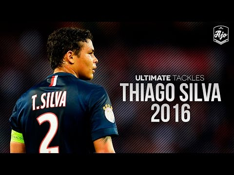 Thiago Silva 2015/16 |Defensive Skills & Tackles| HD | 1080p