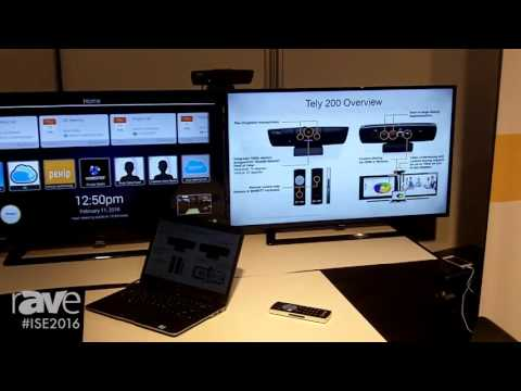 ISE 2016: Tely Gives rAVe a Look at Their HD Video Conferencing Solutions
