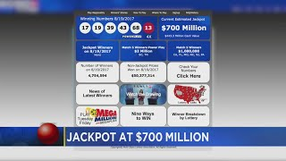 $700M Powerball Drawing Is Tonight