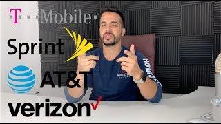 Best Cell Phone Plan? - T-Mobile VS AT&T VS Sprint VS Verizon in 2018