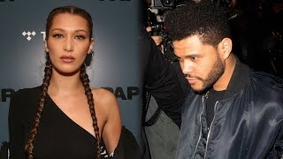 Bella Hadid & The Weeknd REUNITE in NYC While Selena Leans on Friends
