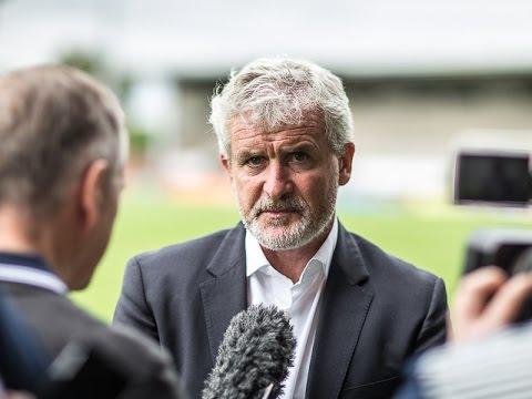 Pre-Season 2016   Mark Hughes On Burton Albion Loss