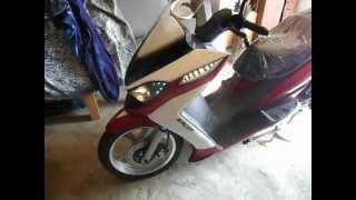 мой скутер RACER DRAGON VIDEO 2.AVI