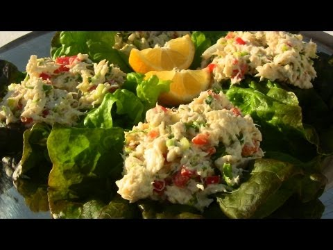 Easy & Delicious Crab Salad Recipe