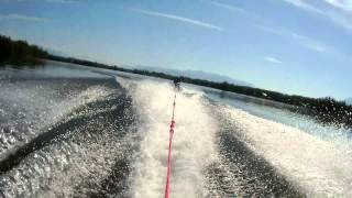 More Knee Boarding - Lake Lucille, Wasilla