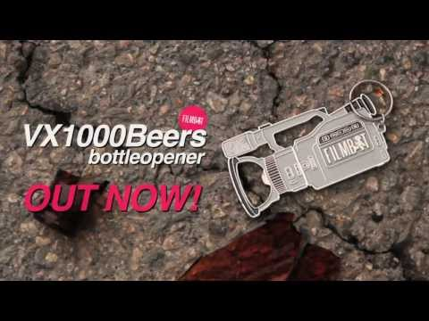 Introducing #Filmbot VX1000Beers Bottle Oopener