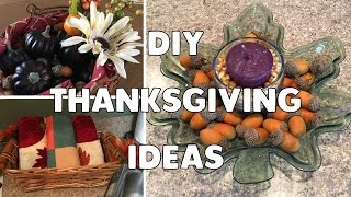 DIY Thanksgiving Decor & Hosting Ideas | Easy & Affordable!