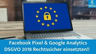 Facebook Pixel & Google Analytics DSGVO / GDPR konform verwenden - WordPress Plugin Pixelmate