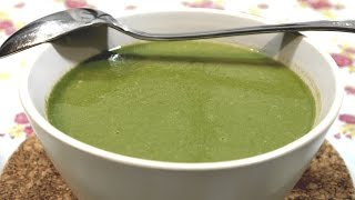 Pea And Spinach Soup Recipe