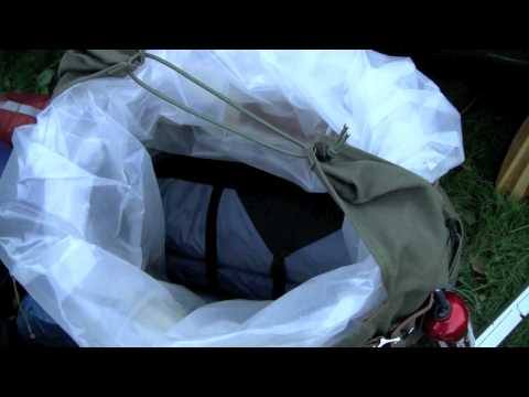 How to Pack a Duluth Pack - Canoe Pack