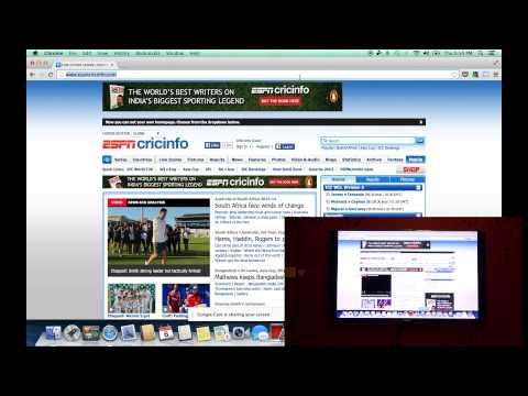 How to Mirror Mac / Windows Screen Wirelessly on TV using Chromecast