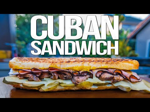 The Best Cuban Sandwich (Cubano Recipe) | SAM THE COOKING GUY 4K